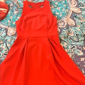 Ruby Red homecoming dress